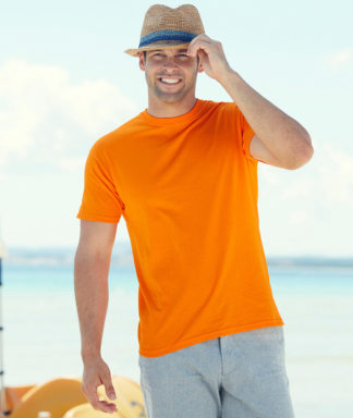 Camiseta valueweight manga corta hombre