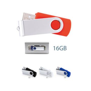 Pendrive 16GB personalizados Rebik