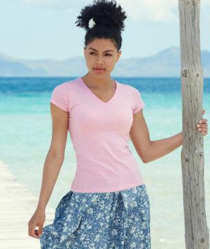 camiseta-valueweight-de-mujer-cuello-pico