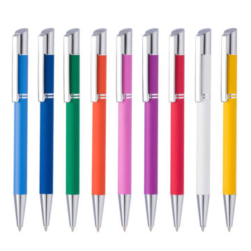 Bolígrafos personalizados de metal Tess Lux