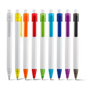 Bolígrafos publicitarios baratos Whity