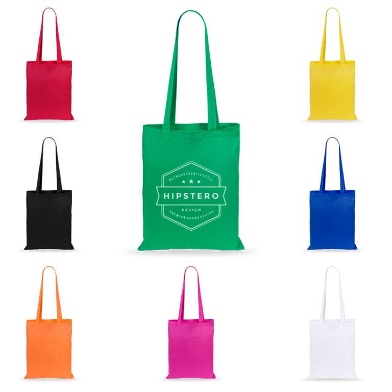 Bolsas de algod n personalizadas geiser 100 con su logo - Bolsas de regalo personalizadas ...