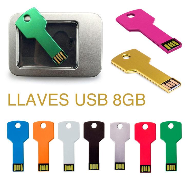 Llaves usb personalizadas fixing 8GB