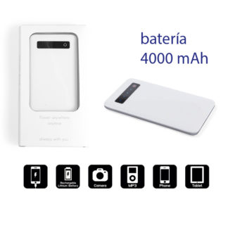 Batería externa móvil personalizada Osnel