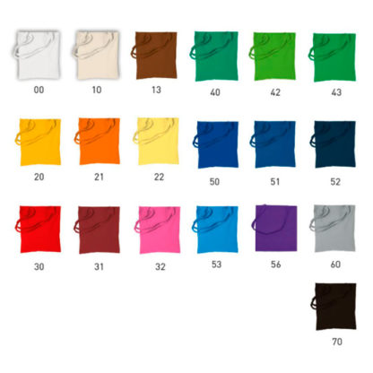 Colores bolsas de tela personalizadas Riad