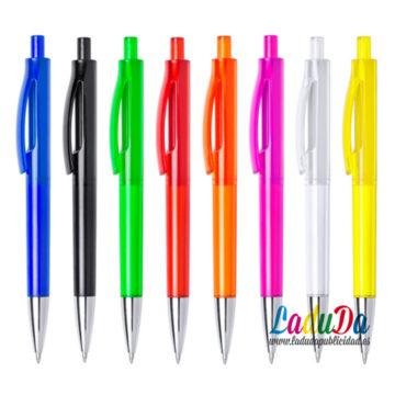 Bolígrafos publicitarios personalizados Velny