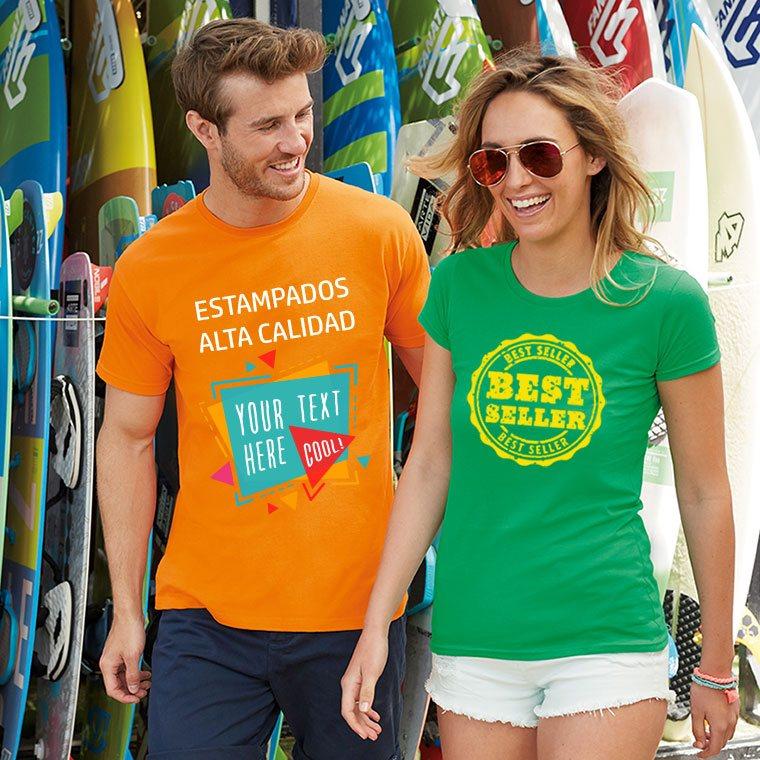 5f79fd632b9cd Camisetas personalizadas hombre Sofspun estampados de alta calidad