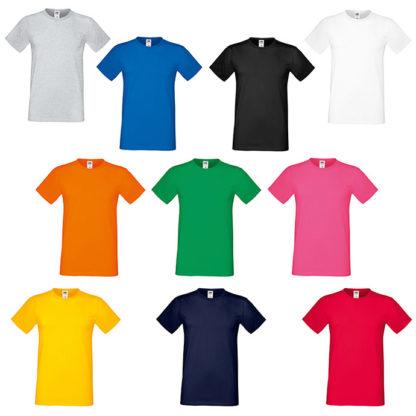 Colores camisetas personalizadas hombre sofspun
