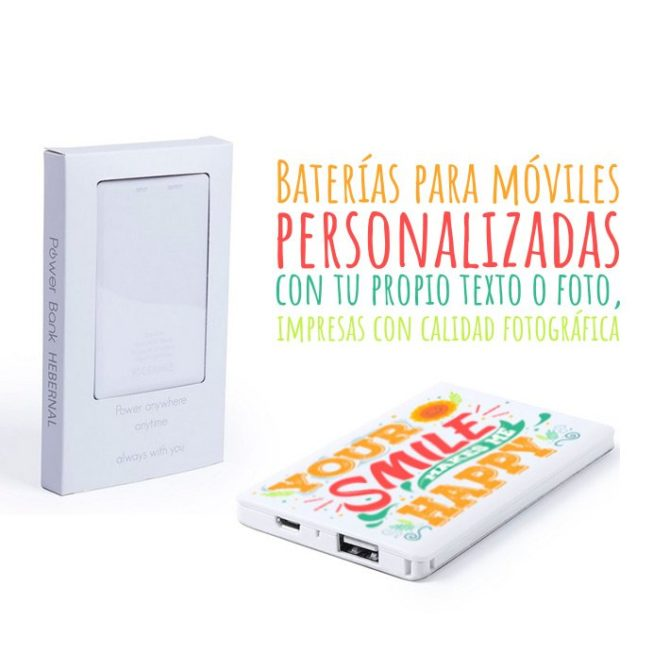 Baterías para móviles personalizadas Hebernal