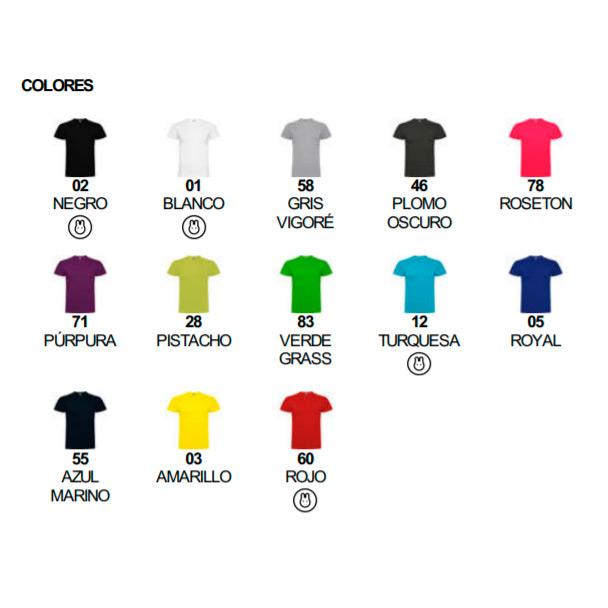 Colores camisetas Braco