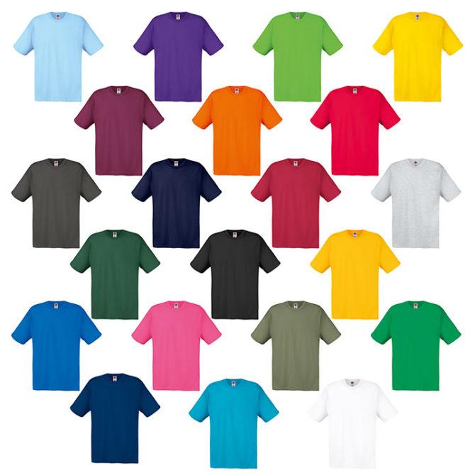 Camisetas Original Fruit Of The Loom