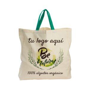 Bolsas algodón orgánico personalizadas Aloe