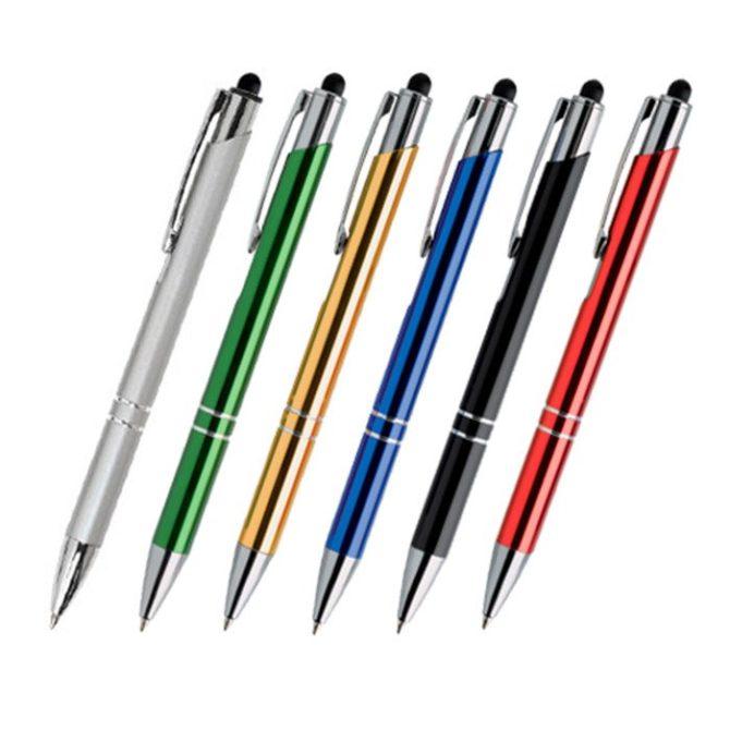 Bolígrafos metálicos personalizados Toney