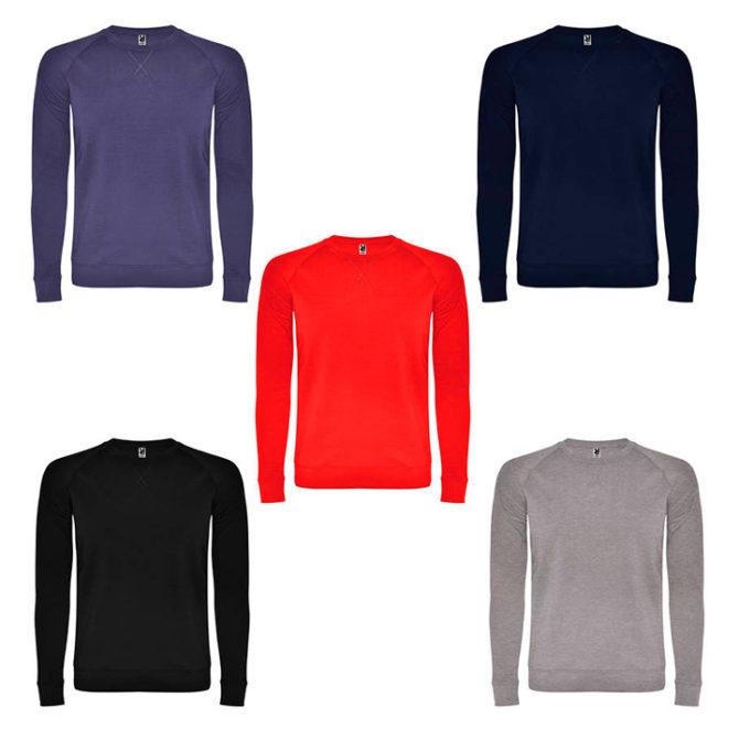 Colores sudaderas personalizadas sin capucha annapurna
