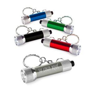 Llaveros con linterna personalizados