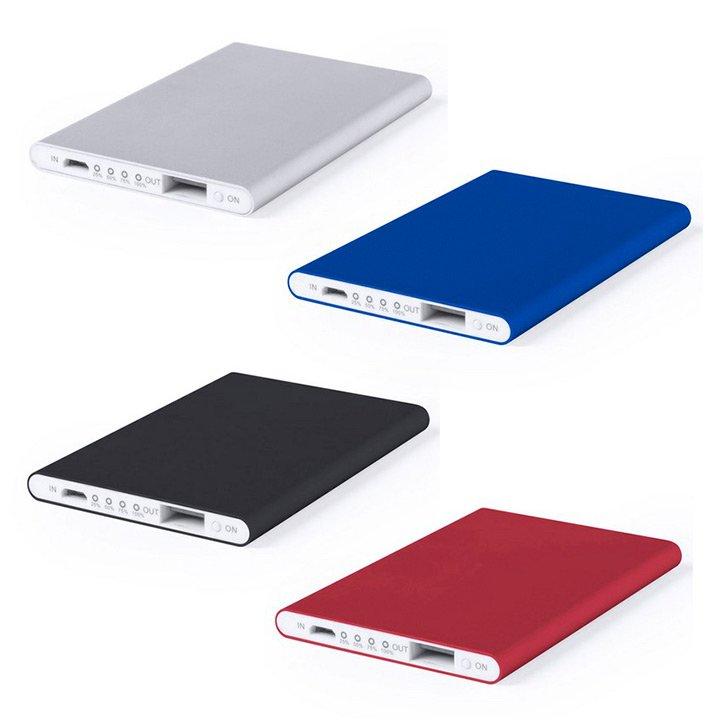 6e99374d4 Powerbank personalizados Telstan del tamaño de una tarjeta de crédito