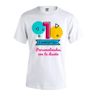 Camisetas blancas personalizadas Keya MC150