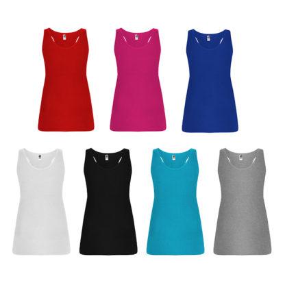 Colores camisetas de tirantes Brenda de Roly
