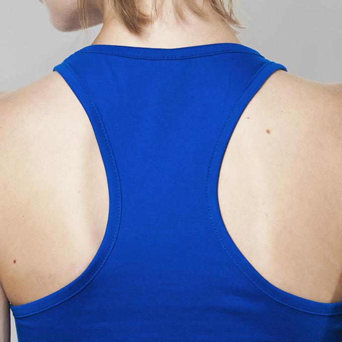 retro hermoso estilo busca lo mejor Camisetas de tirantes personalizadas mujer Brenda 100% algodón peinado