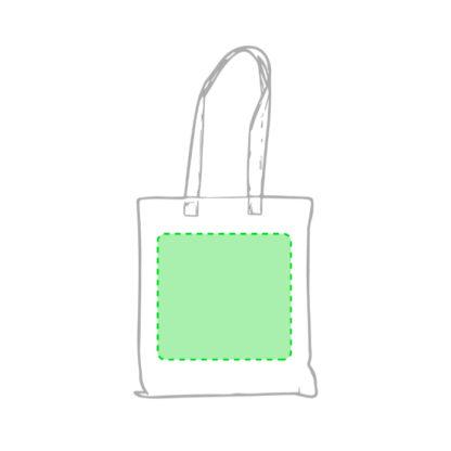 Área de impresión bolsas non woven personalizadas Rostar