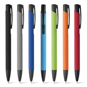 Bolígrafos personalizados con logo grabado Poppins