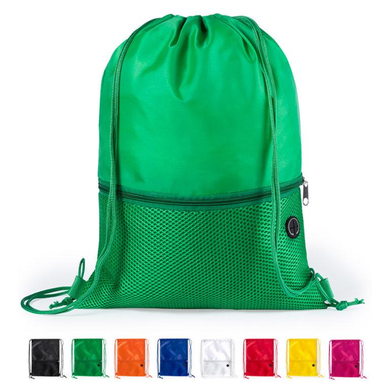 8030da258 Mochila saco personalizada Bicalz con cuerdas y esquinas reforzadas