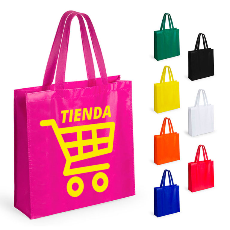 f81a5a110 Bolsas para tiendas personalizadas Natia reutilizables asa mediana