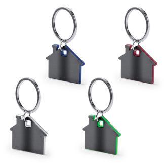 Llaveros personalizados en forma de casa Zosin