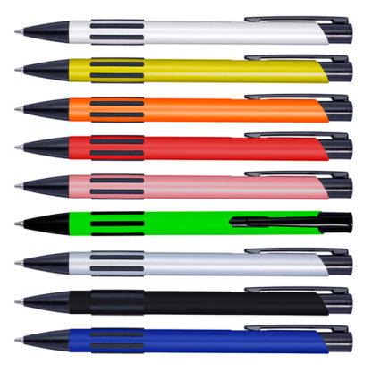 Bolígrafo metálico lacado promocional