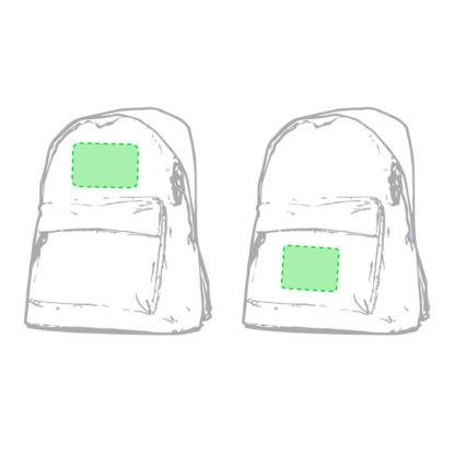 mochila escolar personalizada discovery areas de impresion
