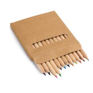 Caja con 12 lápices de color