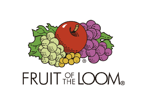 logo fruit of the loom marcas laduda